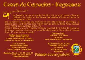 Fly-verso Capoeira Haguenau
